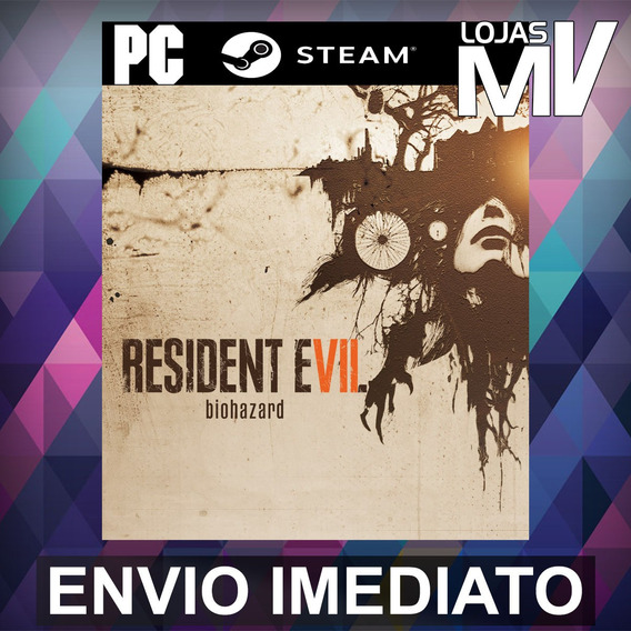 Resident Evil 7 Biohazard Pc Steam Gift Presente
