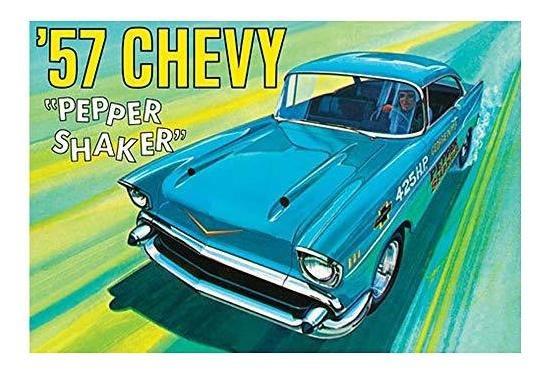 Chevy Pimentero 1 25 Kit Vehiculo Modelo Plastico