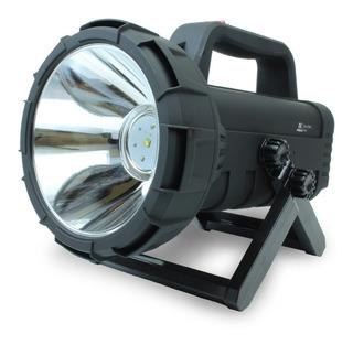 Lanterna Holofote Led Cree 10w Recarregavel De Longo Alcance