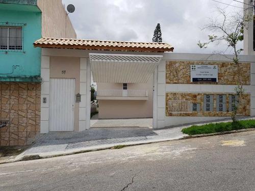 Sobrado Novo Em Condomínio, 2 Suítes Em Itaquera