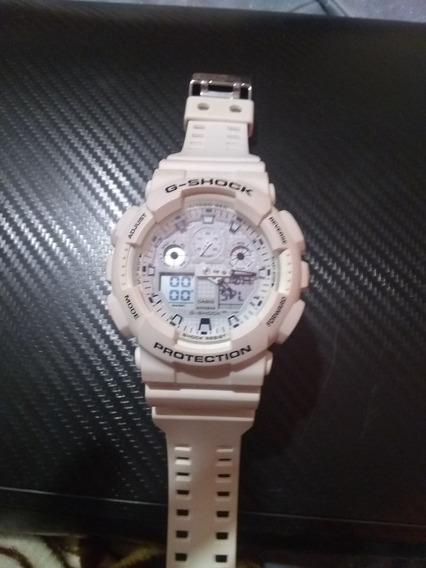 Reloj Casio G- Shock Blanco ,con Esfera Blanca