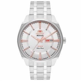 Relógio Orient Automático Masculino 469ss072 S1sx Prata