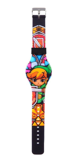Reloj De Silicon Led Link The Legend Of Zelda The Wind Waker