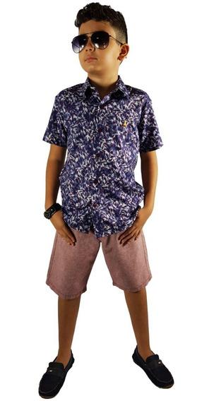2 Camisas Masculino Infantil Juvenil