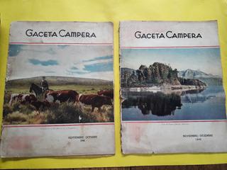 Gaceta Campera - 1940 - Pack X 2