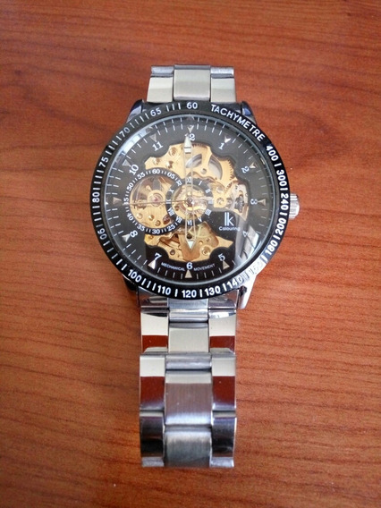 Reloj De Pulsera Skeleton 14042