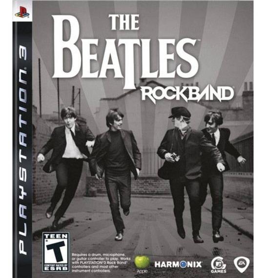 Game Play3 - The Beatles Rock Band - Semi-novo Jogo Ps3