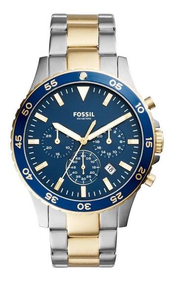 Relógio Fossil Ch3076 - Prateado/masculino 61288