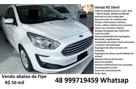 Ford Ka Sedan Se Plus 1.5 Automático 2019