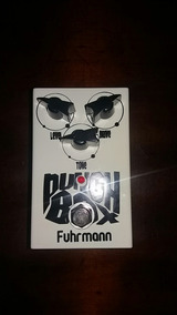 Pedal De Guitarra Overdrive Punch Box Fuhrmann Frete Grátis