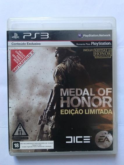 Jogo Medal Of Honor Ed. Limitada Ps3 Mídia Fisica R$79,90
