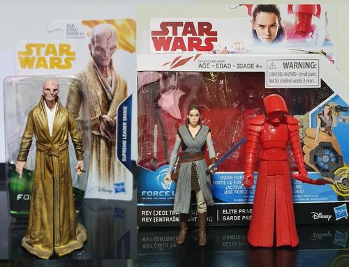 Star Wars Snoke + Pretorian Guard + Rey The Last Jedi