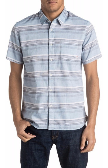 Camisa Quiksilver Mc The Aventail 28107016 Cceaz