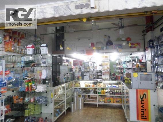 Loja Comercial À Venda, Boqueirão, Santos. - Lo0015