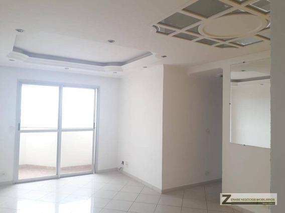 Apartamento Com 3 Dormitórios Para Alugar, 86 M² Por R$ 1.600,00/mês - Vila Progresso - Guarulhos/sp - Ap0485