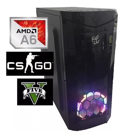 Pc Gamer Barata Amd A6 7480 + 16gb + Ssd240 + Video R5 2gb