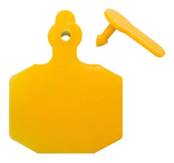 Arete Identificador Plástico Grande Para Ganado 10 Pzas
