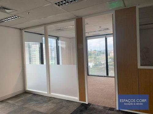 Conjunto Corporativo Para Alugar, 250m² - Brooklin - São Paulo/sp - Cj2403