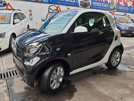 2018 Smart Fortwo Passion Manual Negro