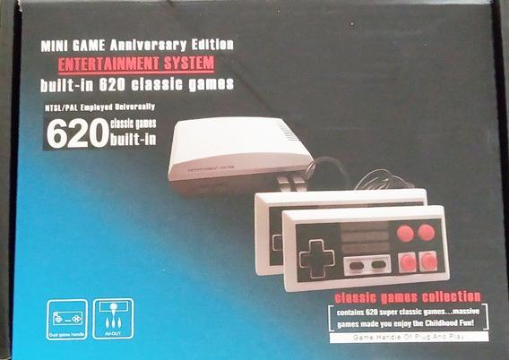 Video Game Com 620 Jogos Clássicos