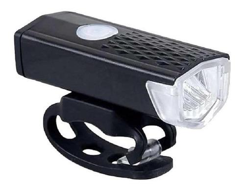 Imagem 1 de 1 de Lanterna Farol Para Bicicleta Usb Recarregavel 150 Lumes