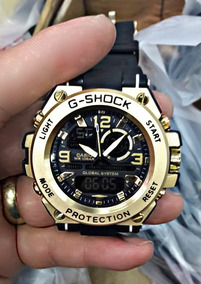 Relógio G-shock Steel Cabeça De Aço Frete Grátis