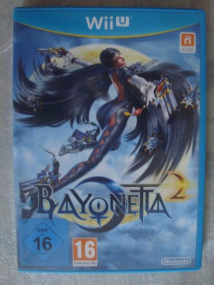 Bayonetta 2 Nintendo Wii U Jogo Game Original Europa Pal