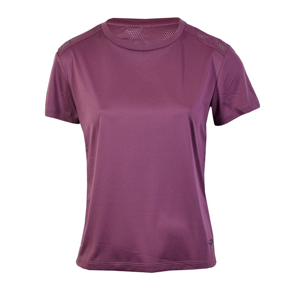 Remera Topper Open Mesh Training Mujer