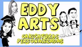 Caricaturas Personalizadas, Em Preto E Branco Digitalizadas.