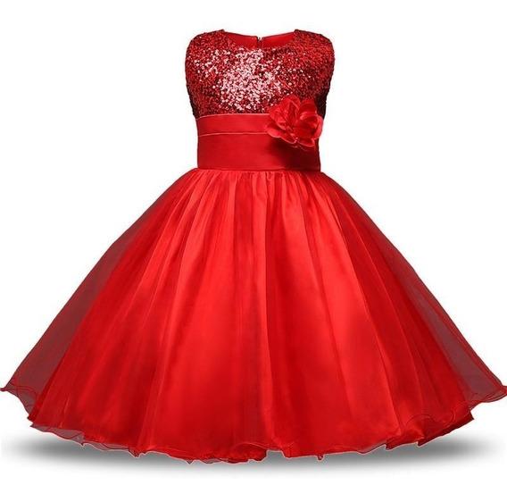Vestido Infantil E Infanto Juvenil Festa Casamento Daminha