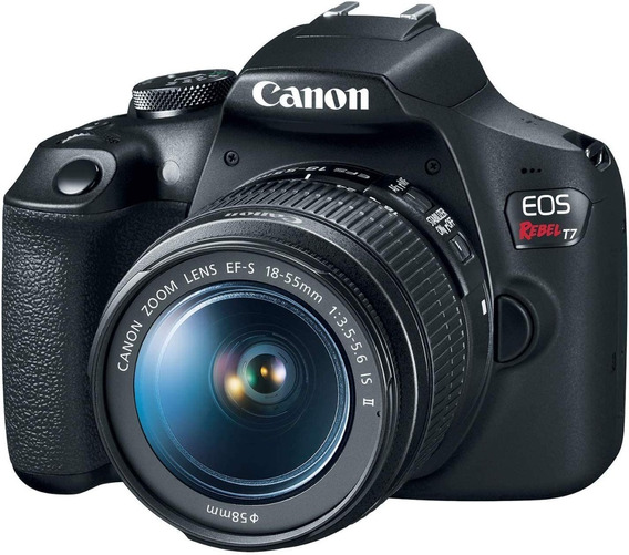 Canon Eos Rebel T7 18-55mm Is Il Kit Dslr Preta
