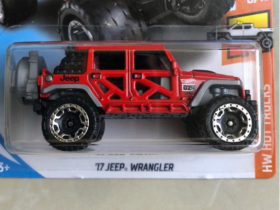 Hot Wheels 17 Jeep Wrangler - Vermelho