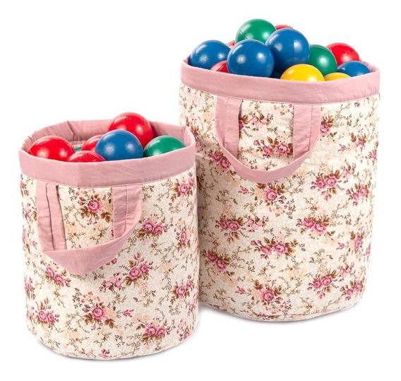 Cestos Organizadores Infantil Bebe Para Brinquedos / Roupas