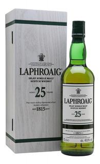 Whisky Laphroaig 25 Años Single Malt C/estuche De Madera