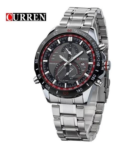 Relógio Em Aço Inoxidavel Curren 8149 Aço