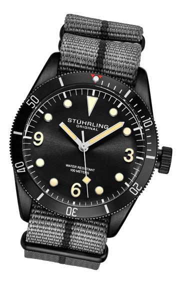 Relógio Masculino Stuhrling - Forti 3958 Quartz 41mm Diver