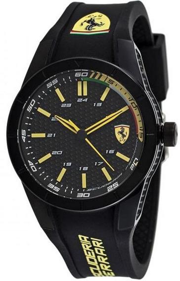 Relógio Scuderia Ferrari 830302 (silicone) - Amarelo