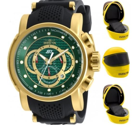 Relógio Invicta Lançamento Original Caixa Capacete.