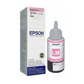 Refil De Tinta - Epson 673 - Magenta Claro - T673620
