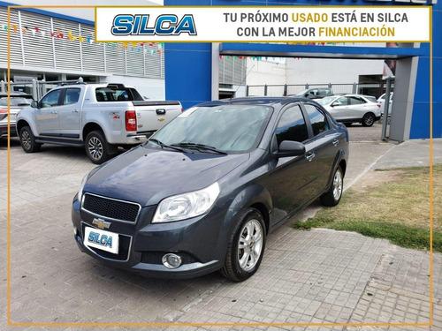 Chevrolet Aveo Lt G3 2013 Gris Oscuro 4 Puertas