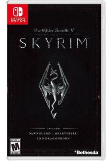 The Elder Scrolls V: Skyrim Switch Mídia Física