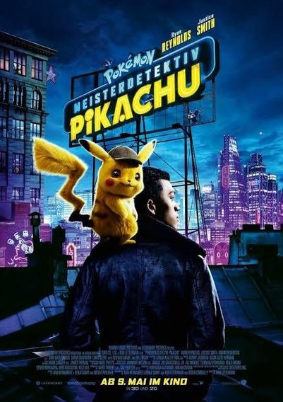 Filme Detetive Pikachu 2019 Dublado Envio Digital