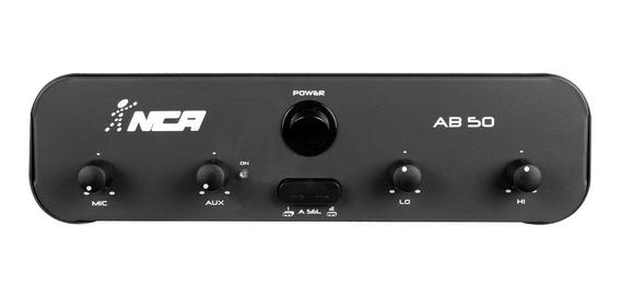 Amplificador Compacto Nca Ab 50 50w Rms 4 Ohms Ab50 Oferta