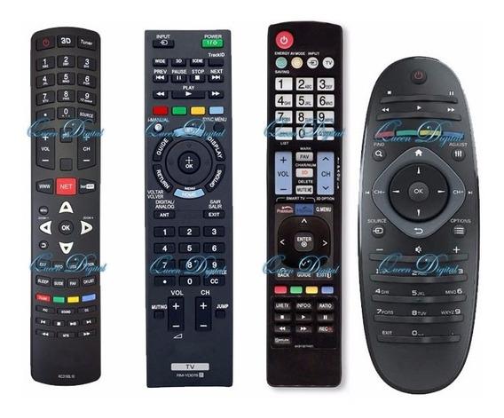 Control Remoto Smart Tv 3d Full Hd Led Tv Varias Marcas