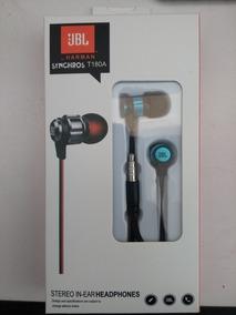 Fone Jbl Stereo C/ Microfone T180a