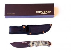 Cuchillo Táctico Camu Explorer 0089 22 Cm - Hay Muela Kabar