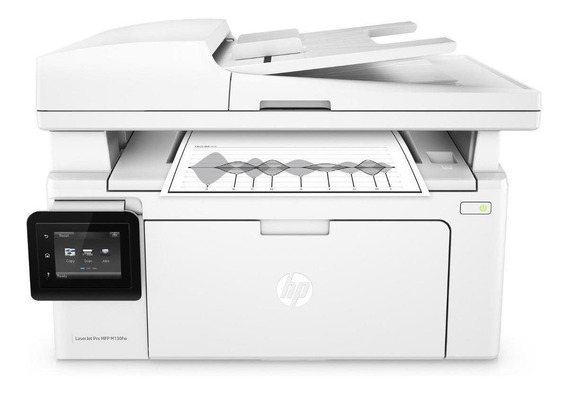 Impressora multifuncional HP LaserJet Pro M130FW com Wi-Fi 110V