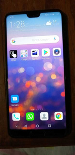 Celular Huawei P 20, Color Negro, 128 Gb...
