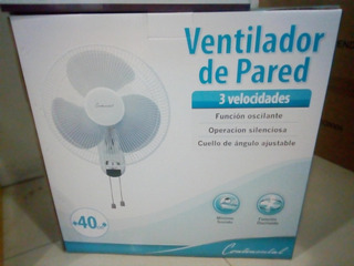 Abanico Continental Electric Ce27811 Pared 16¿