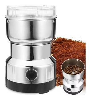 Moledor Molinillo Electrico De Cafe Granos Y Semillas